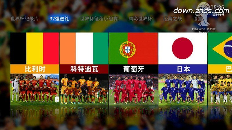 世界杯2014TV版