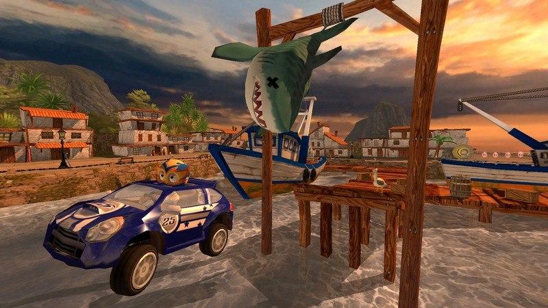 沙滩赛车TV版