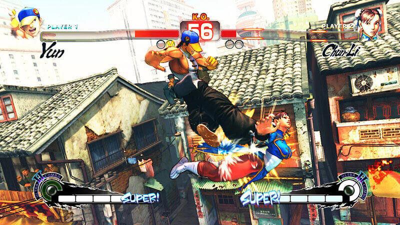 超级街霸4:街机版TV版