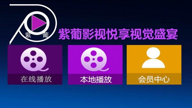紫葡影视TV版