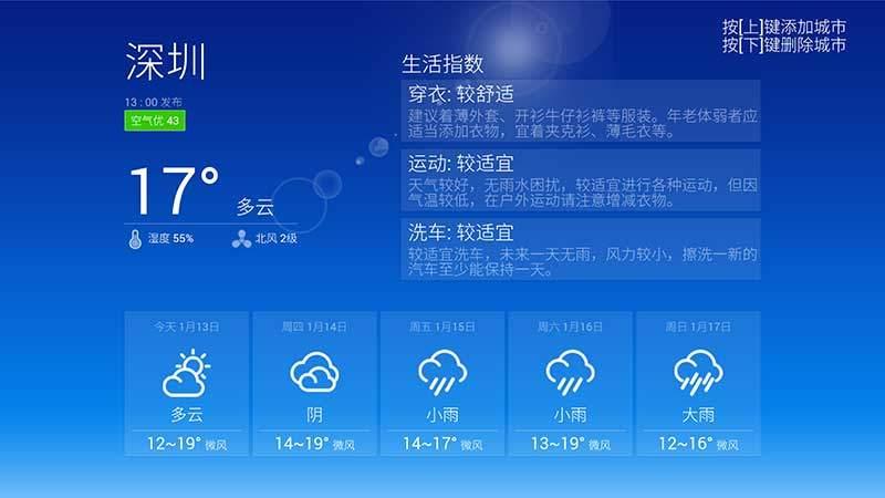 天气预报TV版