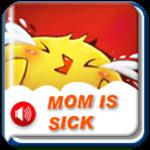 妈妈生病了
