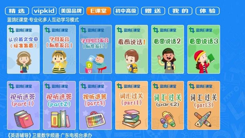 幼儿园英语TV版